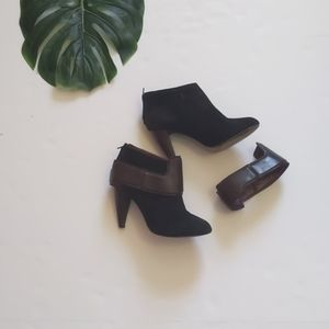 Botkier cuffed ankle boots